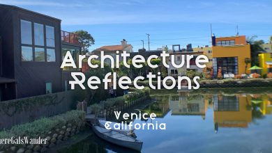 WhereGalsWander Venice Canal California Architecture