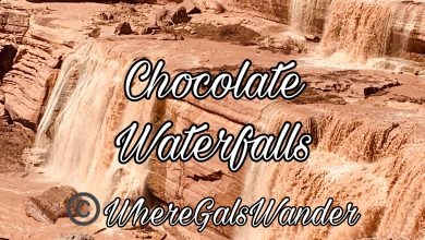 Chocolate Waterfalls, Arizona, WhereGalsWander.com