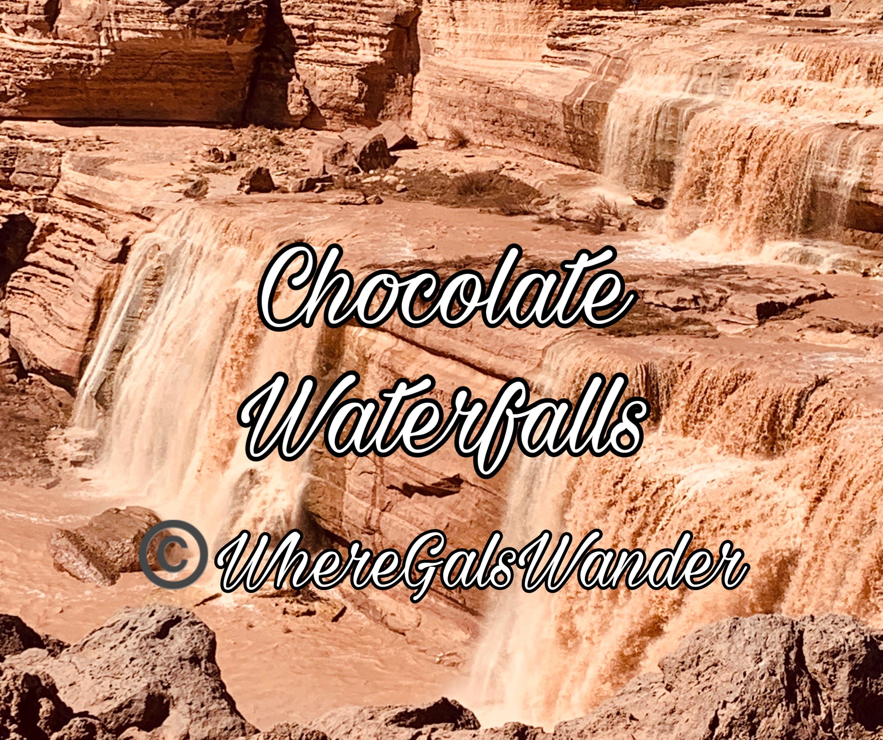 Chocolate Waterfalls, Arizona, WhereGalsWander.com