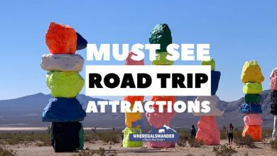 A collection of must see roadside attractions to see on your next road trip travels by WhereGalsWander.com