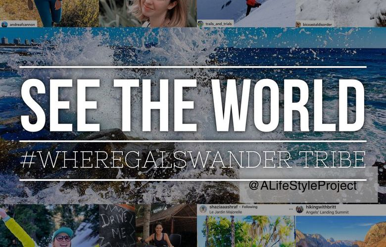 A collection of blogger posts and instagram accounts featuring our favorite woman travelers, all using the #WhereGalsWander hashtag.