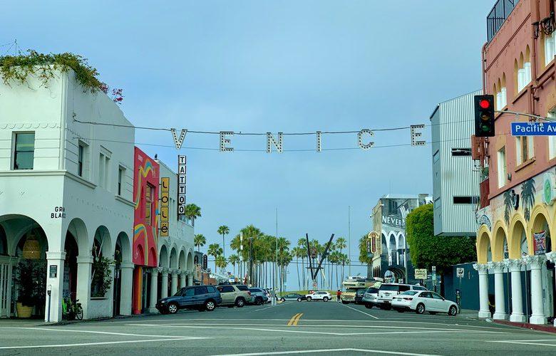 Empty Venice Beach